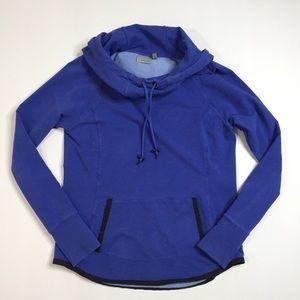 Athleta Hooded Pullover Sweatshirt